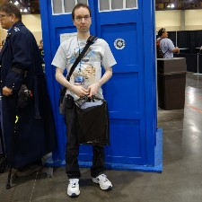 An image of GeekyWhovian